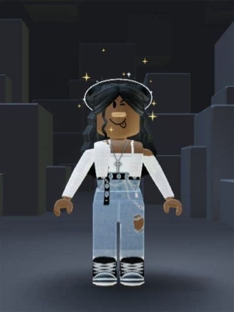 Roblox outfit in 2020  Black girl cartoon, Cool avatars ... - roblox pictures girl cute black