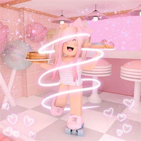 Aesthetic Pink Roblox GFX  Cute tumblr wallpaper, Roblox ... - pink cute roblox girl gfx