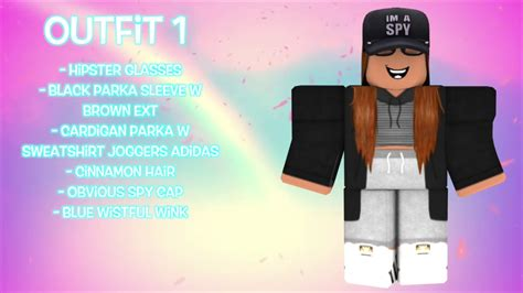 10 AWESOME FEMALE ROBLOX OUTFITS!! - YouTube - girl outfits cute roblox avatars 2021