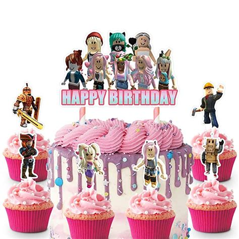 Pin by Alejandra Castillo on Audrina's Birthday ideas in ... - roblox cute girl roblox cake ideas for girls