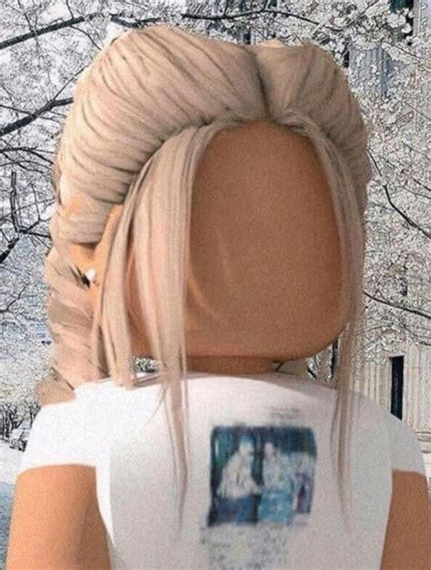 Wintery Blonde in 2020  Roblox pictures, Cute tumblr ... - wallpaper cute summer aesthetic roblox girl gfx black hair