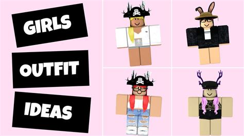6 Roblox Outfit Ideas (Girls Edition) - YouTube - girl outfits cute roblox avatars 2021