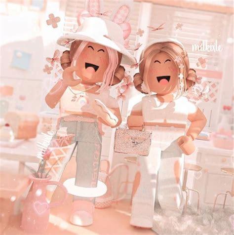 Pin by lol pop on Desenhos kawaii in 2020  Roblox ... - pink bff pink pastel cute aesthetic cute roblox gfx girl