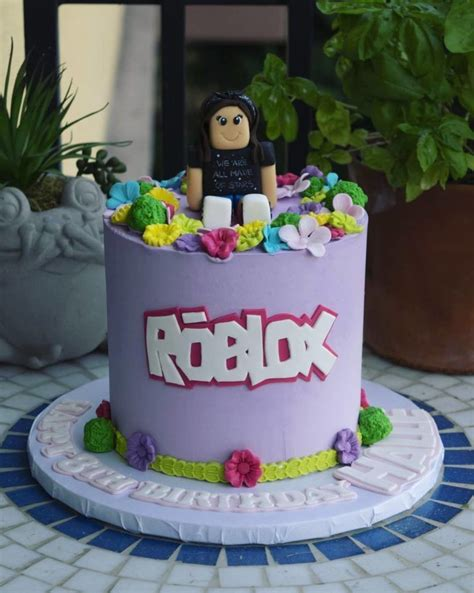 Take a look at these 27 best Roblox cake ideas for ... - roblox cute girl roblox cake ideas for girls