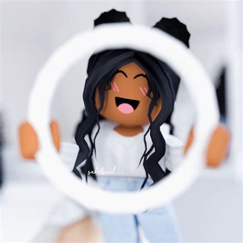 Live It🎇  Meninas tumbler, Garotas gamer, Fotos de ... - cute profile aesthetic roblox avatars black girl
