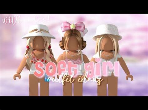 Roblox soft girl aesthetic outfit ideas fairyglows *WITH ... - soft girl outfits pink soft girl outfits cute roblox avatars aesthetic