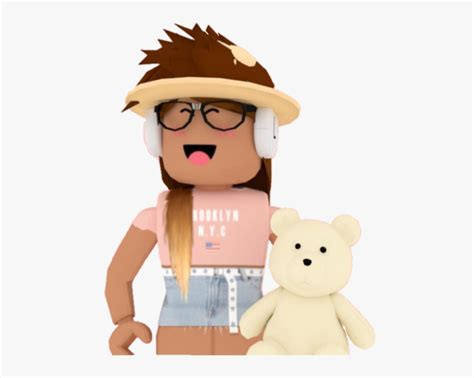 #girl #roblox #bloxburg #teddy #teddyholding #cute ... - cute roblox pictures summer aesthetic roblox girl gfx