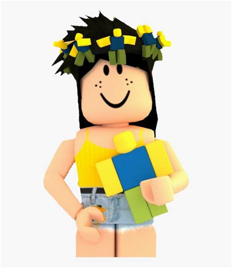 Roblox Girl Aesthetic Gfx Png, Transparent Png is free ... - robux cute roblox girl gfx