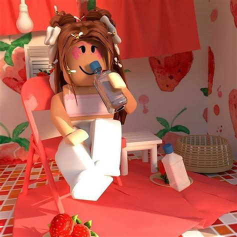 Pin by Angelalover M on Art in 2020  Roblox pictures ... - tik tok wallpaper cute summer aesthetic roblox girl gfx