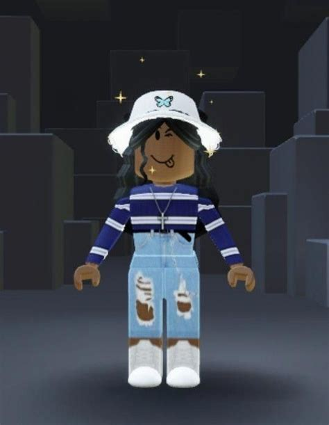 #MmoGamesAvatar in 2020  Roblox pictures, Roblox, Cute ... - cute roblox pictures for tiktok black girl