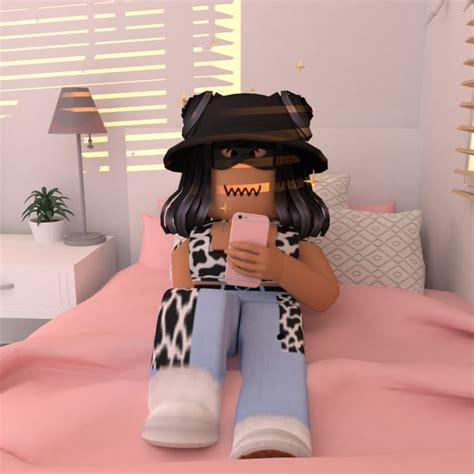 Pin de Fotos De Roblox Aeschtetic en Fondos de roblox - cute roblox avatars girl with black hair