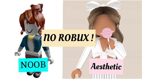 Cute Roblox Girls With No Face - roblox girl by ... - robux girl aesthetic style girl cute cute roblox avatars