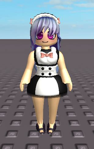 Maid  Know Your Meme - roblox cute girl with no face