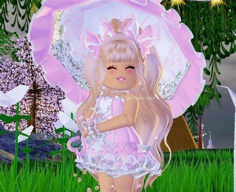 Pin on Roblox - royale high cute anime girl roblox id