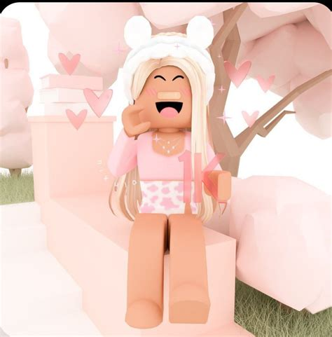 𝚘𝚞𝚝𝚍𝚘𝚘𝚛𝚜🌸 in 2020  Roblox pictures, Cute tumblr wallpaper ... - roblox cute girl pictures