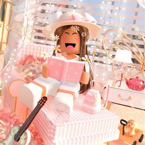 Pin on Cute Roblox Skin's! - pink wallpaper cute summer aesthetic roblox girl gfx