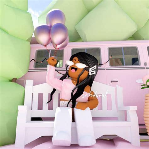 Pin by Katara on Roblox Gfx  Roblox animation, Roblox ... - aesthetic cute black girl roblox avatars
