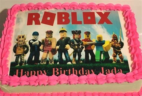 Girls love games too. Roblox cakes for girls because my ... - roblox cute girl roblox cake ideas for girls